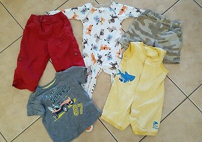 Mixed Lot of 5  Baby/ Toddler Boy Clothes size 18 months