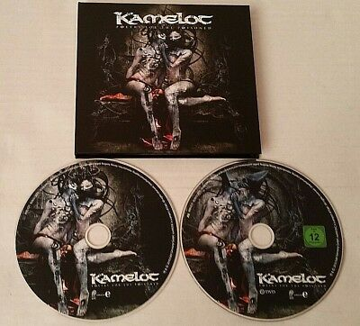 Kamelot - Poetry For The Poisoned Limited Edition, Digibook CD & DVD