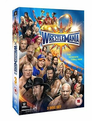WWE: WrestleMania 33 [DVD] - Newest Release - Official WWE DVD Store