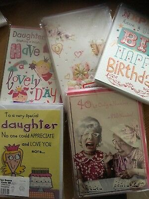 Wholesale Job Lot 120 x Greetings Cards New Wedding, Birthday, Thank You Etc
