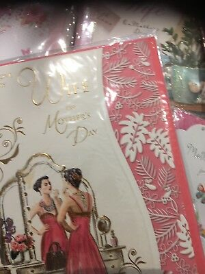 Job Lot 102 Mothers Day Cards