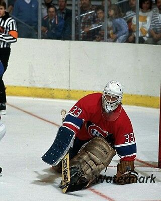 NHL1986 Rookie Patrick Roy Montreal Canadiens Game Action Color 8 X 10 Photo