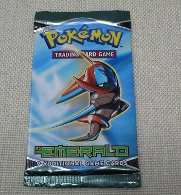 Pokemon EX Emerald Booster pack New Sealed Unweighted