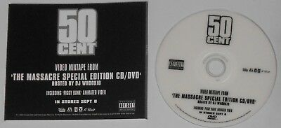 50 Cent - Video Mixtape from The Massacre Special Edition  U.S. promo dvd