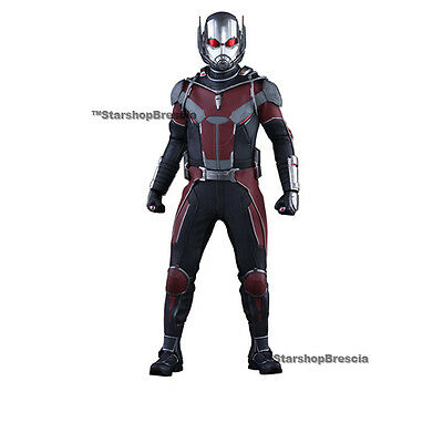 "MARVEL Civil War Ant-Man Movie Obra maestra 1/6 Figura De Acción 12"" Hot Toys"