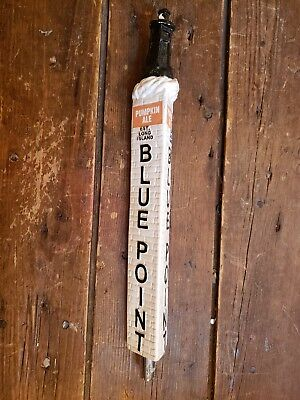 Pumpkin Ale Blue Point Long Island Beer Tap Handle, Good Condition