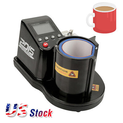 11OZ Pneumatic Mug Heat Press Transfer Machine for Mug Sublimation Printing 110V
