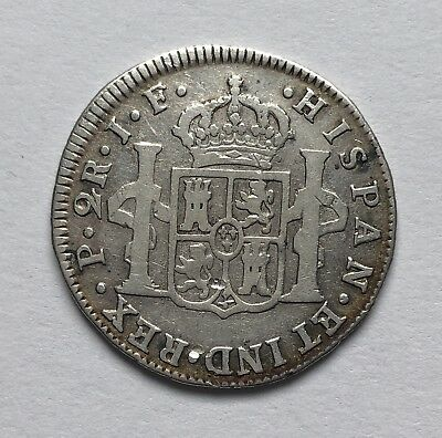 Popayan ( Colombia ) 2 Reales 1811 JF