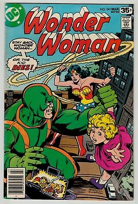 Wonder Woman #241 March 1978 VF 8.0 DC Comics