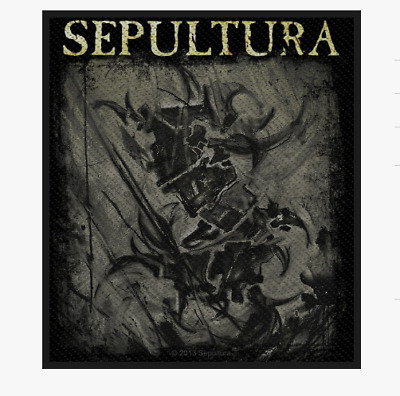 Sepultura - The Mediator - Woven Patch - Brand New - Music 2720