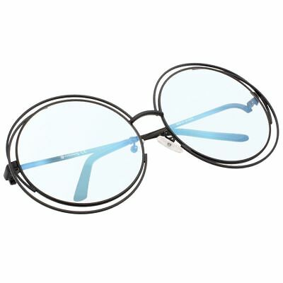 0df741a686 VIVIENFANG Full Metal Double Circle Wire Frame Oversized Round Sunglasses  Polari