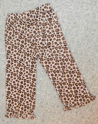 Gymboree NWT Pink GLAMOUR KITTY LEOPARD ANIMAL PRINT DRESS TIGHTS 0 3 6 9 12 M