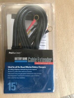 ProMarine Battery Bank Cable Extender 15'   51070