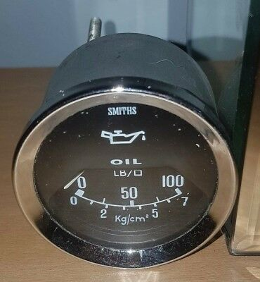 Triumph stag smiths oil gauge