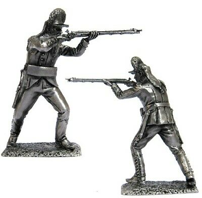 Private Russian Empire Tin toy soldiers 54mm miniature metal sculpture 1812 y