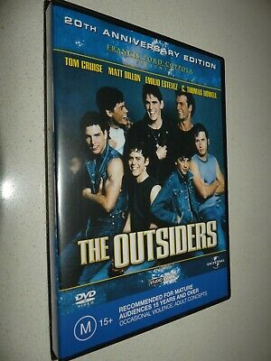 The Outsiders 20th anniversary edition dvd Region 4