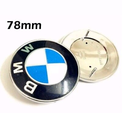 Logo BMW 78mm E65 E66 E67 X5 E53 Z3 E31 E38 E39 Z4 511141970248 emblem badge
