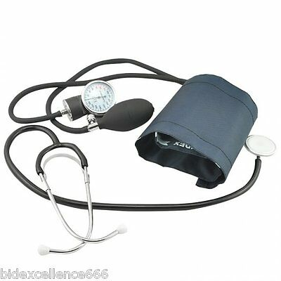 Preciseness Blood Pressure Cuff Monitor and Stethoscope Set Home Medical Body