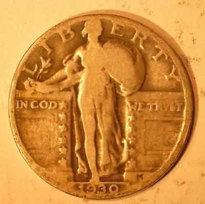 1930 P Standing Liberty Quarter - circulated  ***Special*** (SLQ2019e)