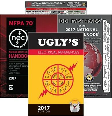 NFPA 70 2017: National Electrical Code (NEC), Handbook, Package, 2017 Edition