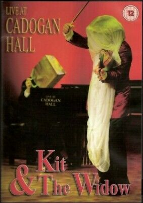 Kit and The Widow - Live At Cadogan Hall - DVD  KKVG The Cheap Fast Free Post
