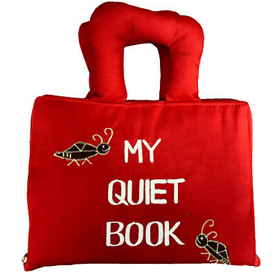 My Quiet Book Fabric Activity Learning Book for Babies & Kids