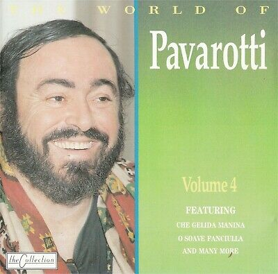The World Of Luciano Pavarotti Volume 4 - NEW Music CD Compact Disc
