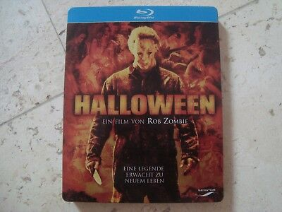 Rob Zombie HALLOWEEN *RARE* Blu-Ray SteelBook LIMITED 1 time EDITION