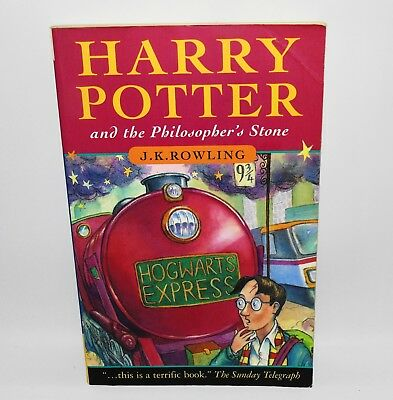 Harry Potter And The Philosophers Stone Bloomsbury PB First Edition 13th Print