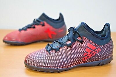 premium selection dd1aa f7136 ADIDAS X 17.3 TF Astro Turf Kids Football Boots Trainers Size UK C11 (ABX)