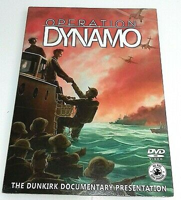 Operation Dynamo : The Dunkirk Documentary 2017 DVD - William Porter
