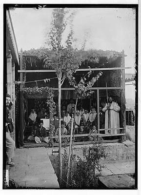 Feast of Tabernacles Bukharan Jews during Sukkot,Middle East,American Colony