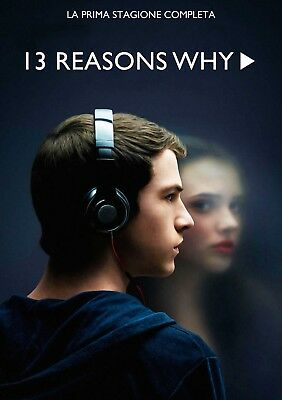 13 Reasons Why - Stagione 1 Completa In Italiano (7 DVD)