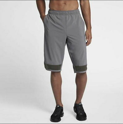 98012e75d2f3 Nike Mens Project X Flex Mens Training Shorts Gunsmoke Grey M AA4646-036  NEW  50