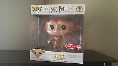 FUNKO POP HARRY Potter Dobby 10 inch Target Exclusive