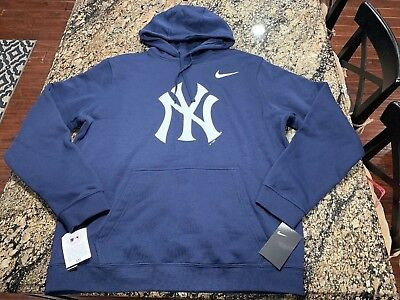 best website d3c14 63a2a WOMENS NIKE MLB New York Yankees Hoodie Xl Extra Large Navy ...