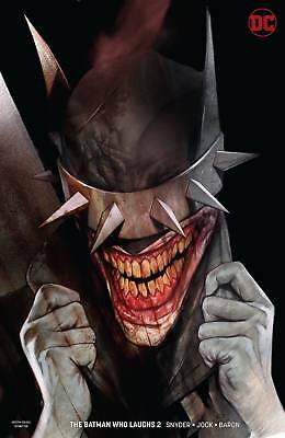 Batman Who Laughs #2 (Of 6) Ben Oliver Variant  Dc Comics