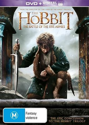 THE HOBBIT 3: Battle of the Five Armies : NEW DVD