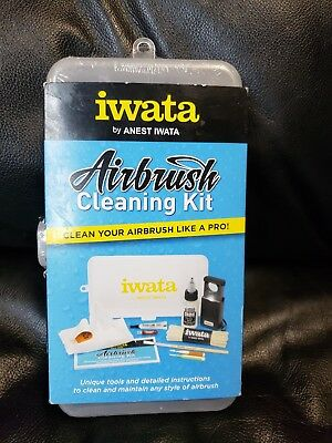 * Iwata by Anest Iwata Professional Airbrush Cleaning Kit