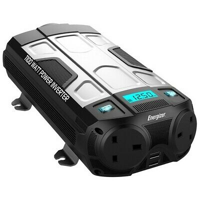ENERGIZER Power Inverter - 12V to 230V - 1100W  - 50612 |Next working day to UK