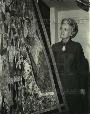 1974 Press Photo Mrs. Dorothy Crosby on the board of New Orleans boy scouts.