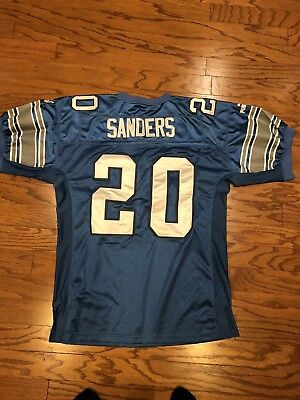 d6b73a932 Detroit Lions Puma Throwback Jersey. Vintage Barry Sanders  20 Men Sz XL.  NWOT