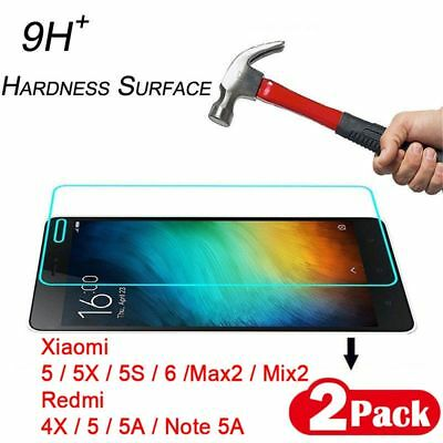 Protector Tempered Glass 3D Edge Curved For Xiaomi 5 6 Mix2 Redmi 4X Note 5A