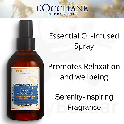 L'Occitane Aromachologie Relaxing Pillow Mist 100ml Lavender Aromatherapy