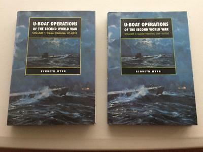 U-Boat Operations Of The Second World War Volume 1 & 2 Career Histories