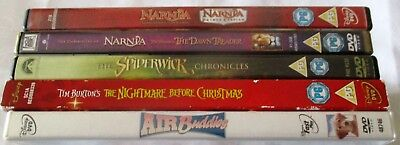 WALTER DISNEY- DVD BUNDLE-NARNIA,THE SPIDERWICK CHRONICLES & MORE - 6 Movies