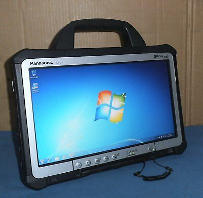 "13.3"" Panasonic Toughbook Cf-D1 Tablet Intel 847 4Gb 250Gb  Win 7 Pro Cf D1 +Psu"