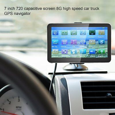 704 7-Inch 8GB+128M GPS Navigator Capacitive Touch Screen Satellite Navigation~#