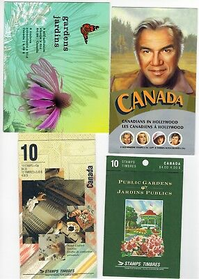Lot of Booklets Canada Stamps MNH Postage lot Face Value $16+