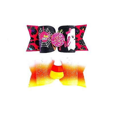 Dog Hair Bows- Halloween One Boo-tiful Little Ghoul So Cute It's Scary Pet Bow